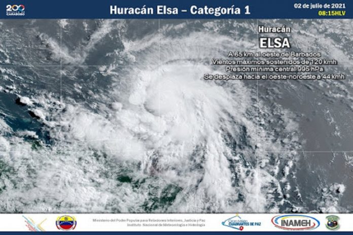 Tormenta tropical Elsa convirtió huracán - Tormenta tropical Elsa convirtió huracán