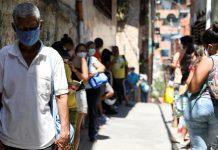 Nuevos contagios de Covid-19 en Venezuela