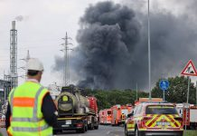 Explosión en planta química en Alemania - Explosión en planta química en Alemania