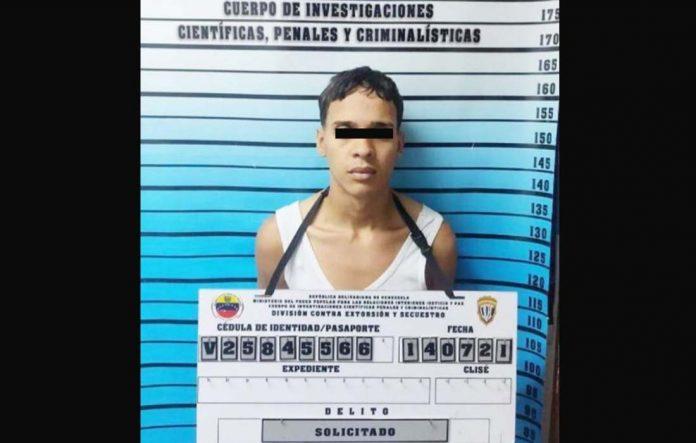 Capturan a un peligroso homicida en Caracas