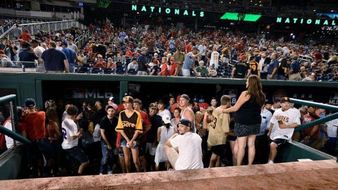 Tiroteo al frente del Nationals Park pospuso encuentro Padres de San Diego - Nacionales de Washington