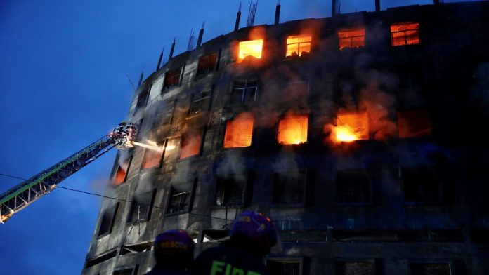 Incendio en fábrica de Bangladesh - Incendio en fábrica de Bangladesh