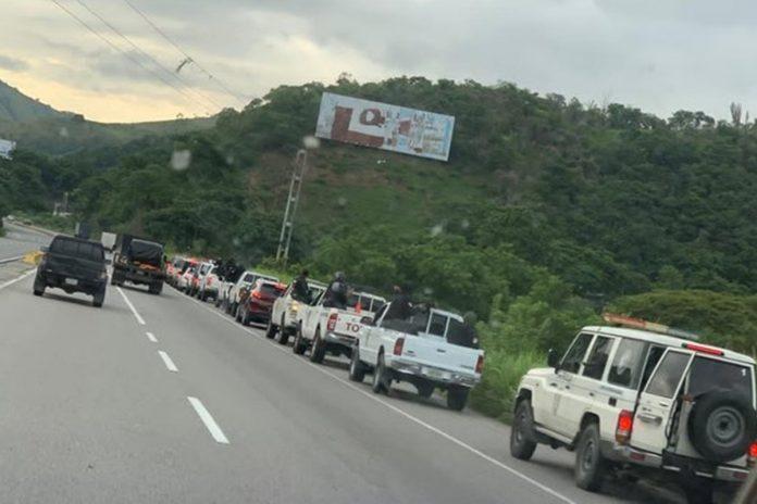 Se reportó un enfrentamiento en Las Tejerías, estado Aragua