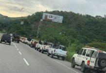 Continúa enfrentamiento en Las Tejerías - Continúa enfrentamiento en Las Tejerías