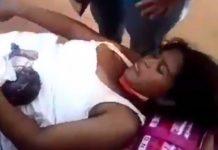 Mujer da a luz en una plaza de Maracaibo - Mujer da a luz en una plaza de Maracaibo