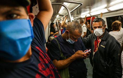 Piden mejores medidas de bioseguridad para el Metro de Caracas