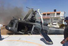 Helicóptero de la Fuerza Aérea Dominicana