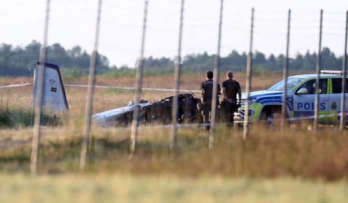 suecia Nueve personas murieron tras accidenteaéreo