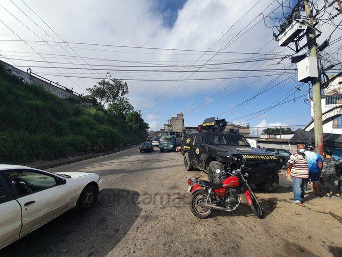 Operativo policial en Petare