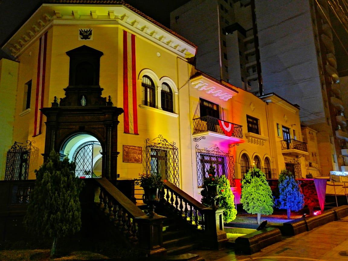 Tricolor de Venezuela iluminó al mundo - Tricolor de Venezuela iluminó al mundo