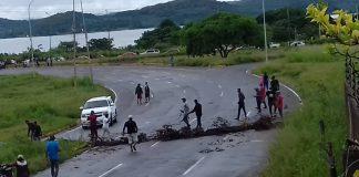 Protestan por falta de gasolina en Bolívar - Protestan por falta de gasolina en Bolívar