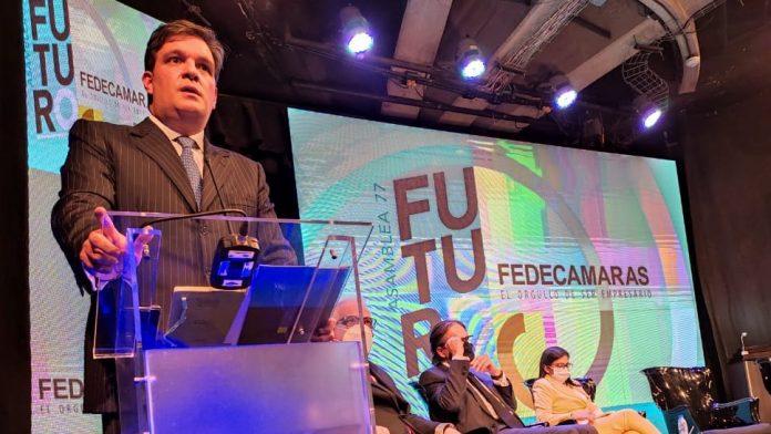 Presidente de Fedecámaras destacó destacó la presencia de Delcy Rodríguez durante Asamblea Anual