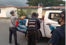 Dos personas detenidas en Morón - Dos personas detenidas en Morón