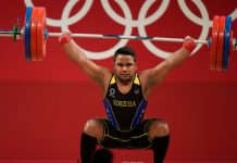 Keydomar Vallenilla logró Medalla de Plata