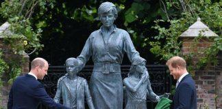 Estatua de Diana de Gales