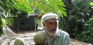 creador del Museo de las Piedras de Galipán
