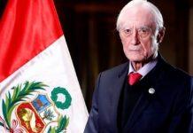 canciller de Perú dimitió a su cargo - canciller de Perú dimitió a su cargo
