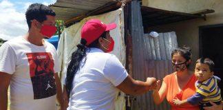 Liliana Ortega realizó jornada social