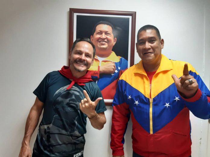 Vielma Mora y Octavio Madera