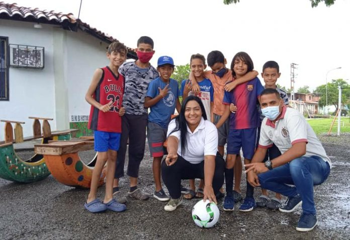 Liliana Ortega realizó diversas actividades