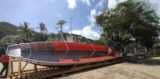 Dianca fabricó primera embarcación