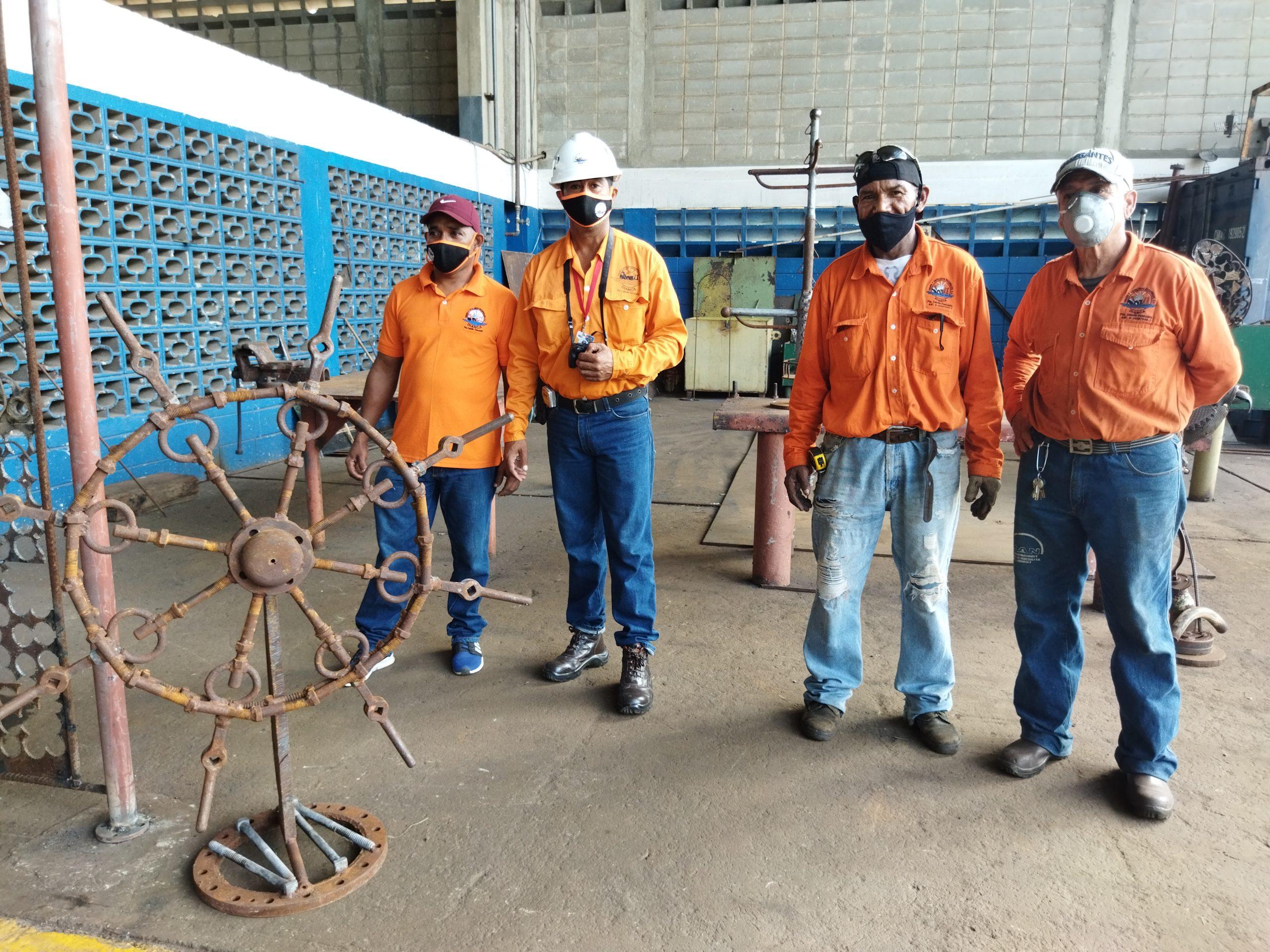 trabajadores de Dianca