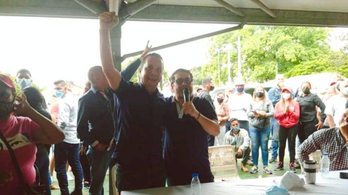 Rafael Lacava y Miguel Flores