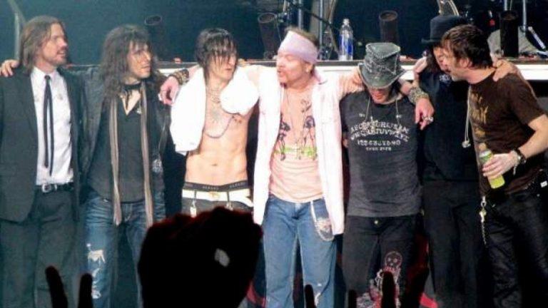 ¡Después de 13 años! Guns N'Roses estrena tema inédito «Absurd»