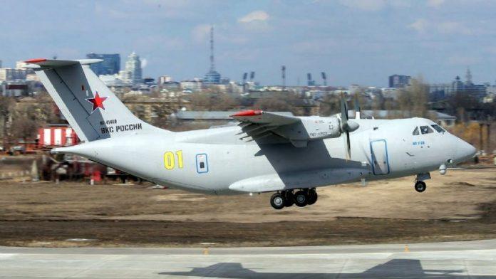 Avión ruso se estrelló - Avión ruso se estrelló