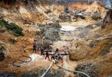 organizaciones indígenas denunciaron la presencia de mineros