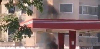 incendio en una bomba en Maturín - incendio en una bomba en Maturín