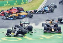 Valtteri Bottas recibió sanción de cinco puestos por colisión en el Gran Premio de Hungría