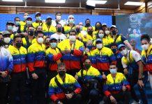 Nicolás Maduro recibió a los atletas de Tokio 2020