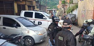 Cuatro sujetos armados abatidos durante enfrentamiento en Petare