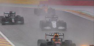 Verstappen ganó Gran Premio de Bélgica dominado por la lluvia