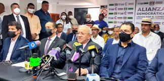 Alianza Democrática anuncia 23 candidatos - Alianza Democrática anuncia 23 candidatos