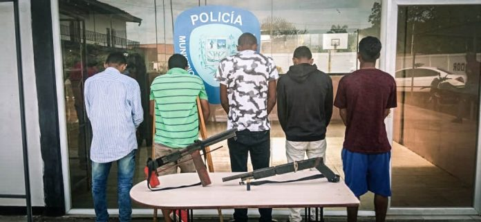 """Capturan a cinco integrantes de la banda """"El Goajiro"""""""