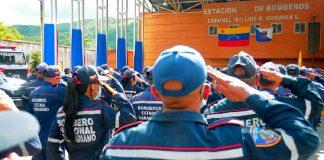 Bomberos de Carabobo y Protección Civil dotados - Bomberos de Carabobo y Protección Civil dotados