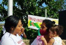 Liliana Ortega cerró campaña en Guacara