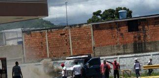 Incendio en una bomba en Maracay - Incendio en una bomba en Maracay