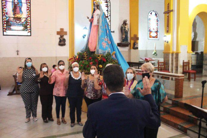 Juramentación de la Sociedad Amigos de Naguanagua