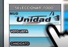 Mesa de la Unidad Democrática - Mesa de la Unidad Democrática