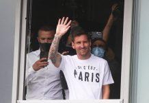 Messi llegó a París - Messi llegó a París