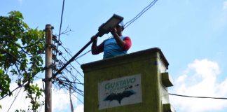 Instalan lámparas led en Colinas de Girardot