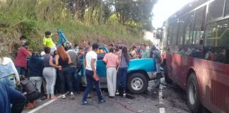 Accidente de tránsito en Táchira - Accidente de tránsito en Táchira