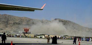 Explosión en el Aeropuerto de Kabul - Explosión en el Aeropuerto de Kabul