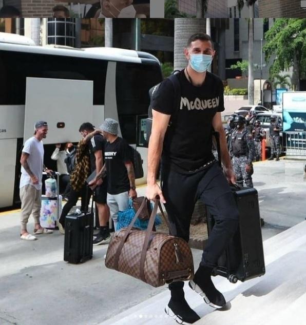 Lionel Messi está en Caracas - Lionel Messi está en Caracas