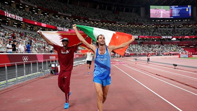 Dos atletas comparten la medalla de oro