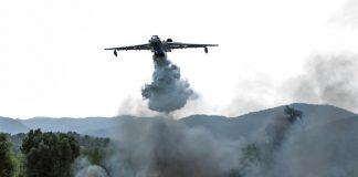 Avión contra incendios se estrelló en Turquía