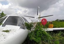 Avioneta aterriza de emergencia en Guárico - Avioneta aterriza de emergencia en Guárico
